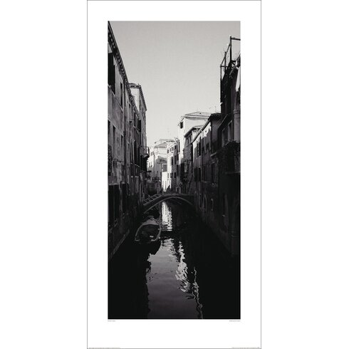 Reflection, Venice by Heiko Lanio Photographic Print