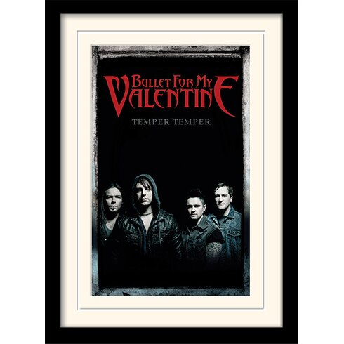 Bullet For My Valentine Group Framed Vintage Advertisement