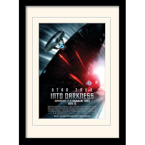 Into Darkness - Pursuit by Star Trek Mounted Framed Vintage Advertisement