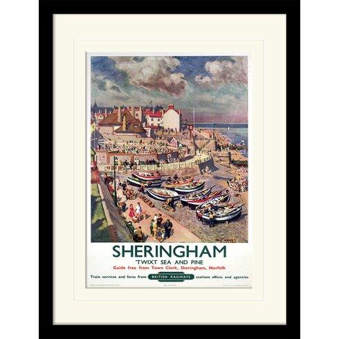 Sheringham Framed Vintage Advertisement