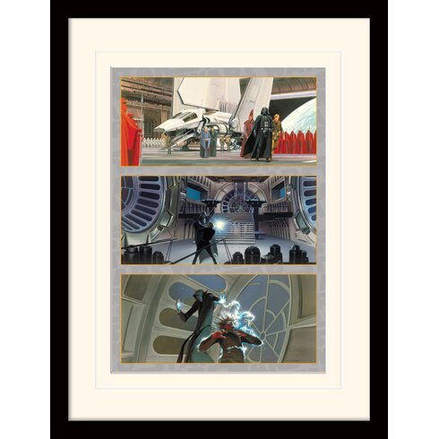 Star Wars The Final Battle Framed Graphic Art