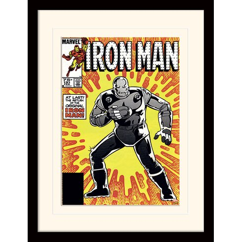 "Iron Man ""Original"" Framed Vintage Advertisement"