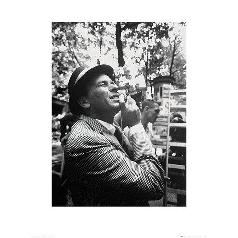 Time Life - Frank Sinatra Camera Photographic Print
