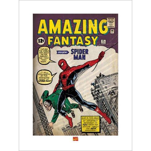 Spider-Man Issue 1 Graphic Art