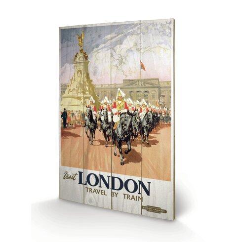 """London """"12"""" Vintage Advertisement Plaque"""
