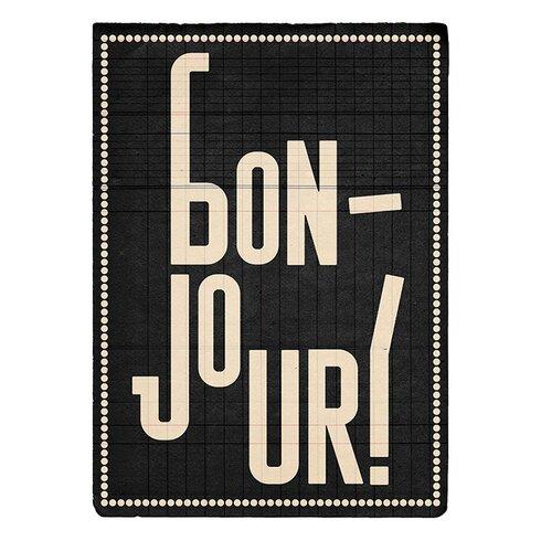 Bonjour by Edu Barba Typography