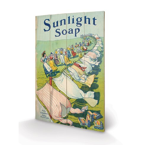 Sunlight Soap Vintage Advertisement Plaque