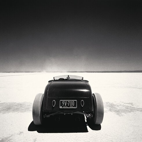 Roadster, Muroc by Peter Vincent Canvas Wall Art