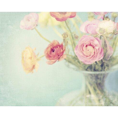 Spring Pastels by Shana Rae Canvas Wall Art