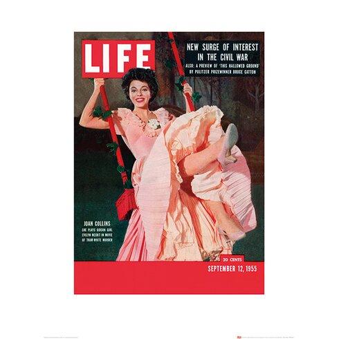 Time Life - Joan Collins Vintage Advertisement