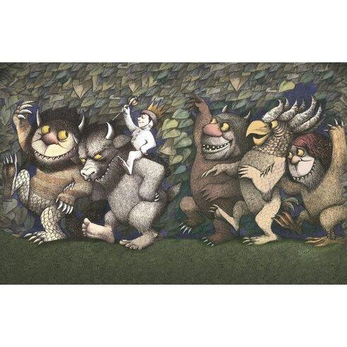 Let the Wild Rumpus Start III by Maurice Sendak Vintage Advertisement Canvas Wall Art