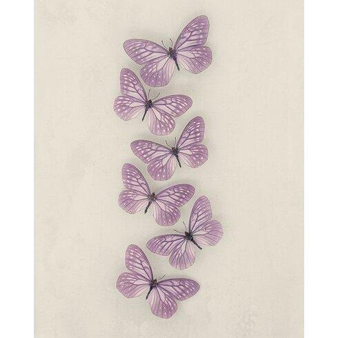 Butterflies by Ian Winstanley Canvas Wall Art