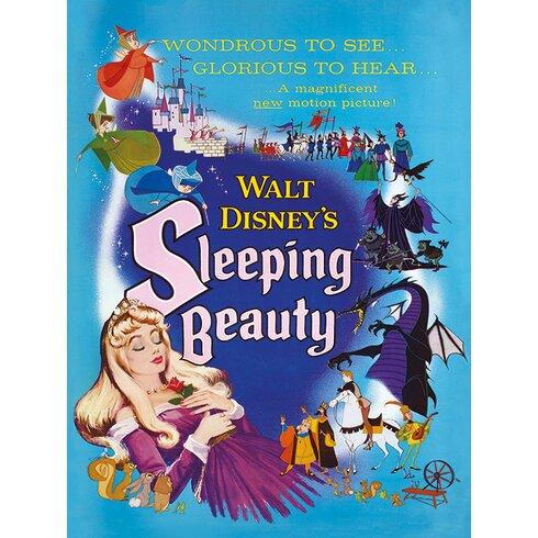 Sleeping Beauty Glorious Vintage Advertisement on Canvas