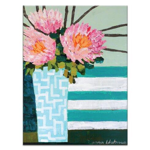 Stripes by Anna Blatman Art Print on Canvas