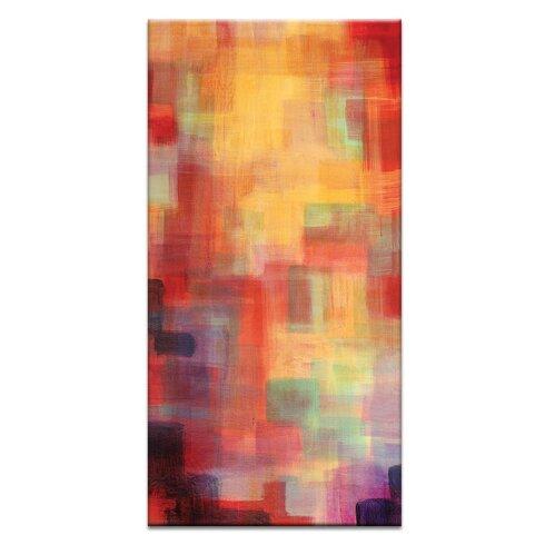 Skyline Tryptich Right by Jennifer Webb Art Print Wrapped on Canvas