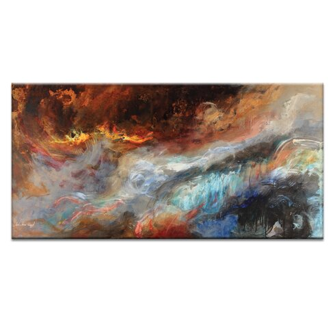 Earth, Wind and Fire by John Louis Lioyd Art Print on Canvas