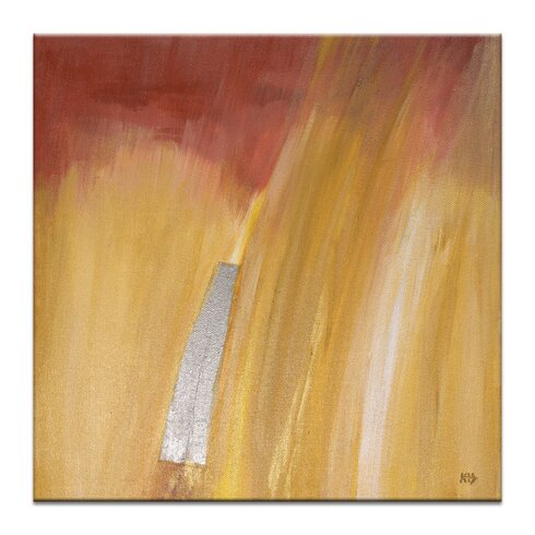 Fire Study 4 by Karen Hopkins Art Print Wrapped on Canvas