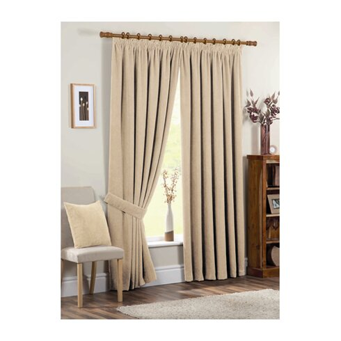 Chenille Curtain Panels