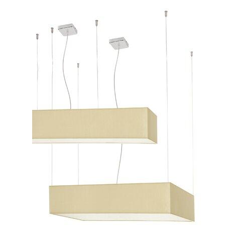 Square 2 Light Pendant