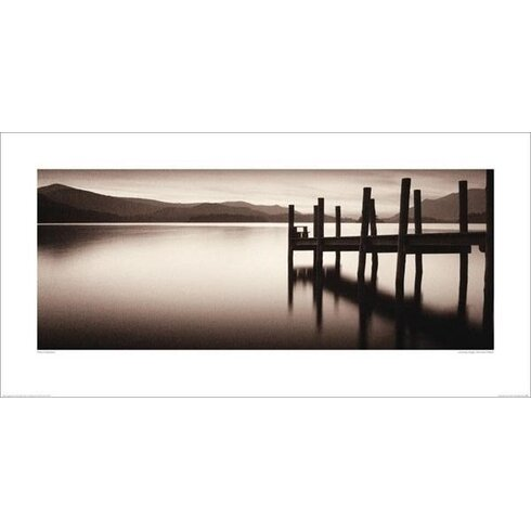 Landing Stage, Derwent Water by Mike Shepherd Photographic Print