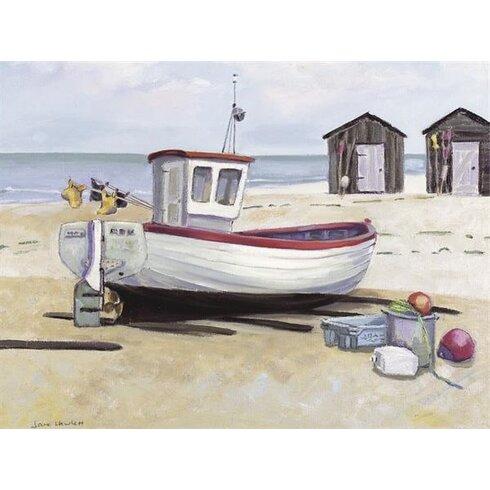 Breezy Day by Jane Hewlett Art Print on Canvas