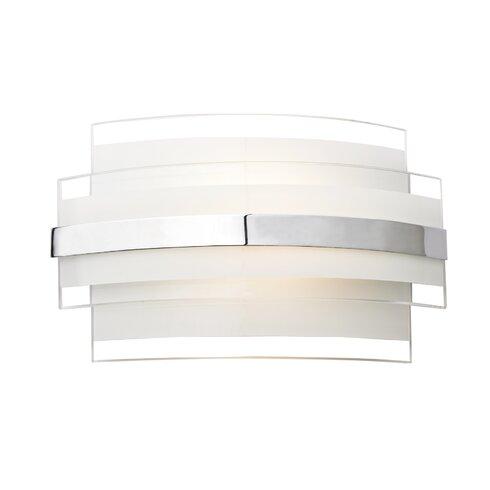 Edge 1 Light Flush Wall Light