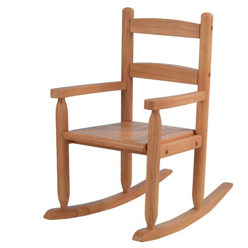 ... Rocking Chair - KidKraft 2 Slat Kids Rocking Chair & Reviews Wayfair