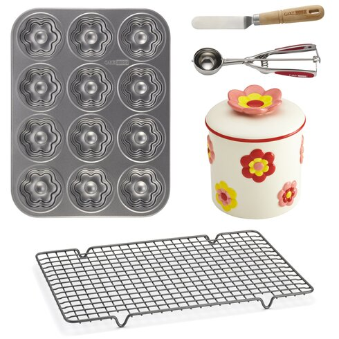 5 Piece Flower Cookie Set
