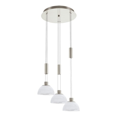 Montefio 3 Light Cascade Pendant Light