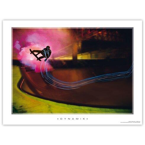 Kunstdruck Dynamik - 60 x 80 cm
