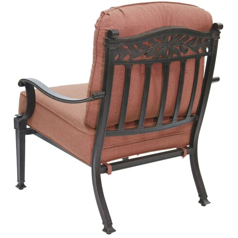 Darlee Charleston 5 Piece Deep Seating Group with Cushions  Wayfair