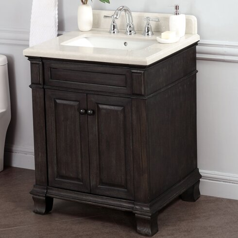 28 inch bathroom vanity with sink lanza kingsley 28 quot single bathroom vanity set amp reviews 24754