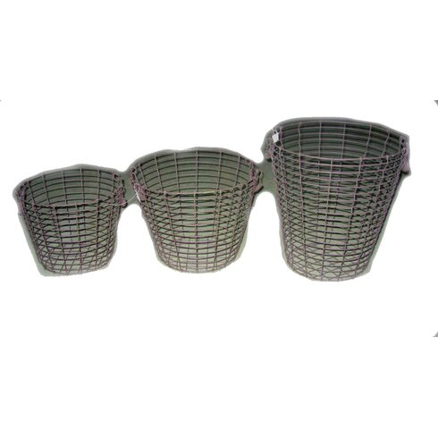 Fireside 3 Piece Log Basket Set