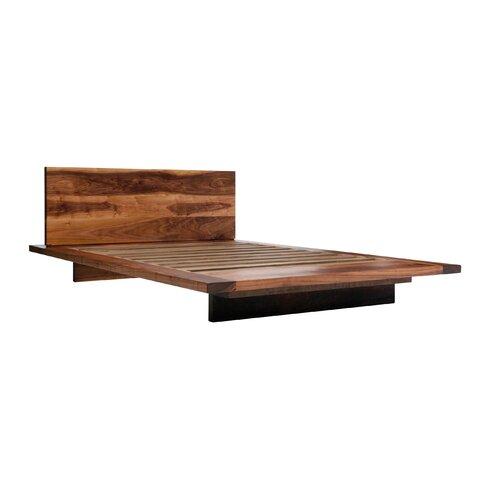 Sq platform bed allmodern - Seagrass platform bed ...