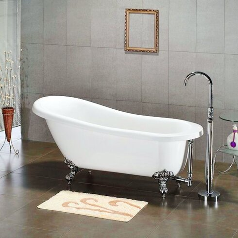 Cambridge Plumbing X 31 Claw Foot Slipper Bathtub