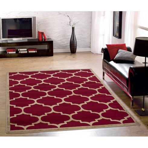 Ottomanson paterson contemporary moroccan trellis design - Moroccan living room furniture for sale ...