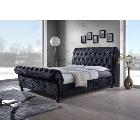 Lipsi Upholstered Sleigh Bed