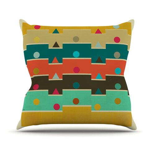 Modern Graphic Pillow : KESS InHouse Modern Graphics Geometry Throw Pillow Wayfair