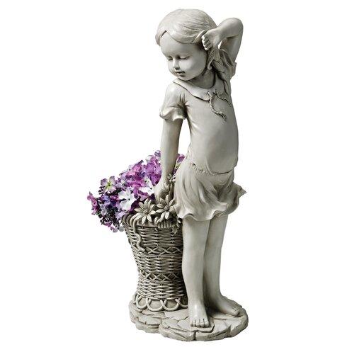 Garden Division Frances the Flower Girl Statue
