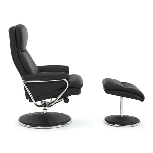 Dokos Recliner and Footstool