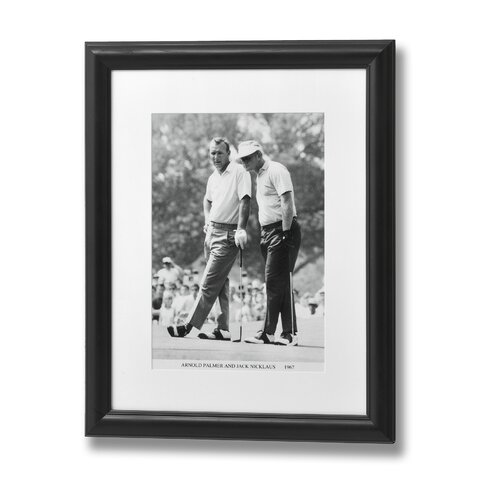Arnold Palmer and Jack Nicklaus Framed Photographic Print