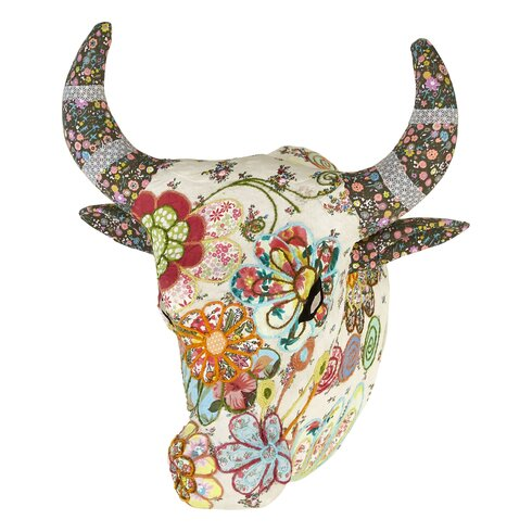 Lochs and Lagoons Embroidered Angus Bust Wall Décor