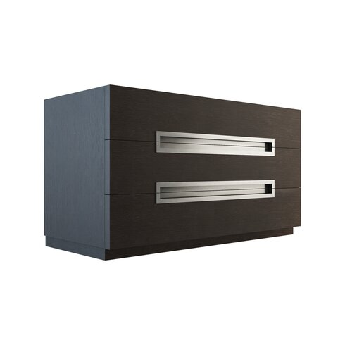 Monroe 3 Drawer Dresser Standard Dresser