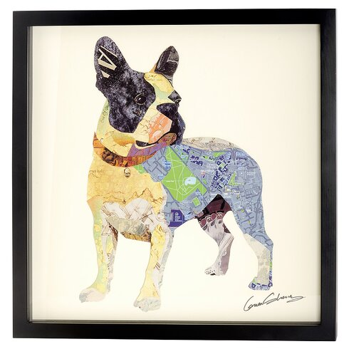French Bulldog Collage Picture Framed Graphic Art