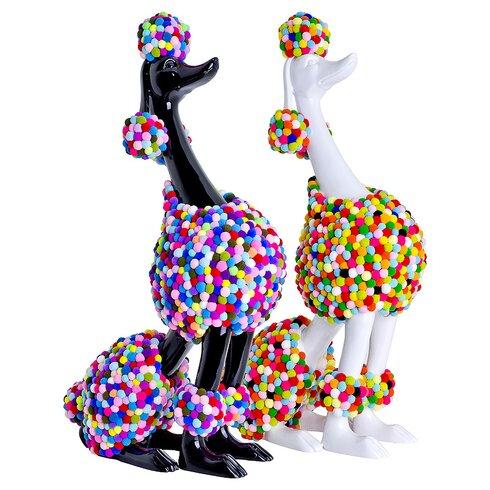 Decorative Pom Pom Poodle