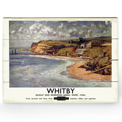Whitby Vintage Advertisement Plaque