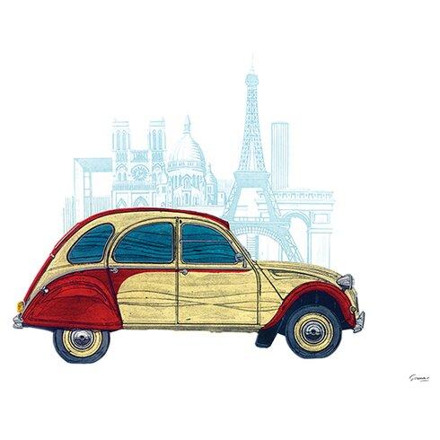 CV Paris by Barry Goodman Graphic Art