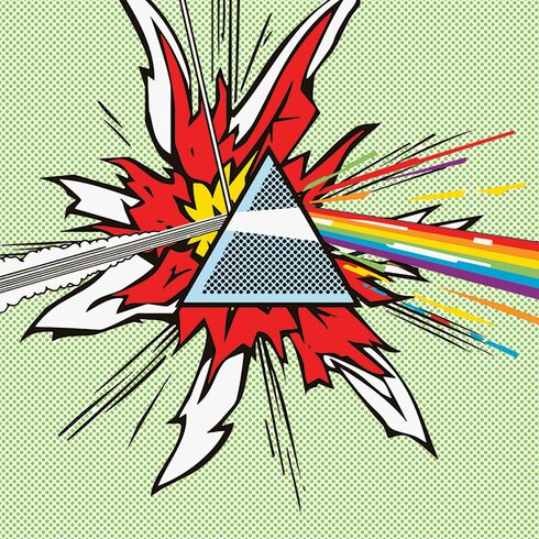 Pink Floyd Dark Side Of The Moon - Pop Canvas Wall Art