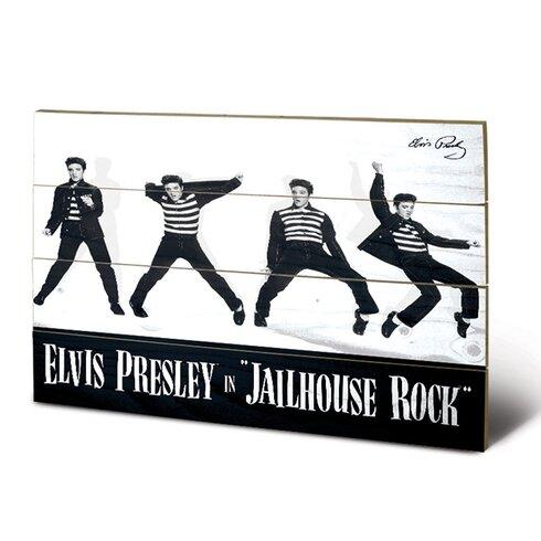 Elvis Jailhouse Rock Vintage Advertisement Plaque