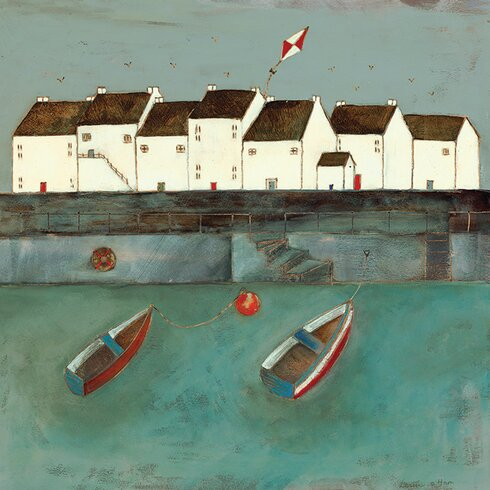 Floating on a Light Breeze by Louise O'Hara Canvas Wall Art